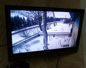 картинка с видеокамеры