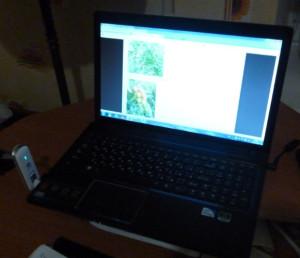 ноутбук с интернетом