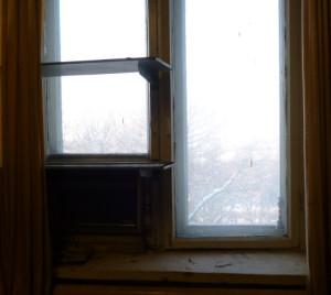 окно в кабинете